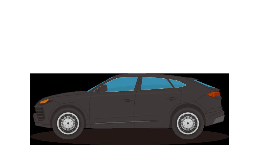SUVの商用無料イラスト