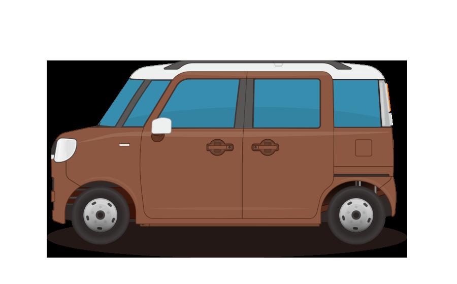 軽自動車の商用無料イラスト