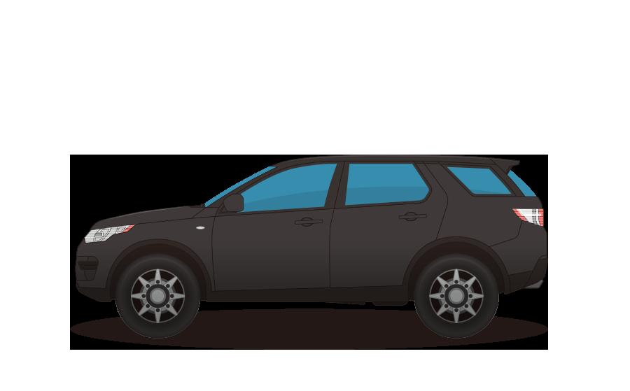 RV車の商用無料イラスト